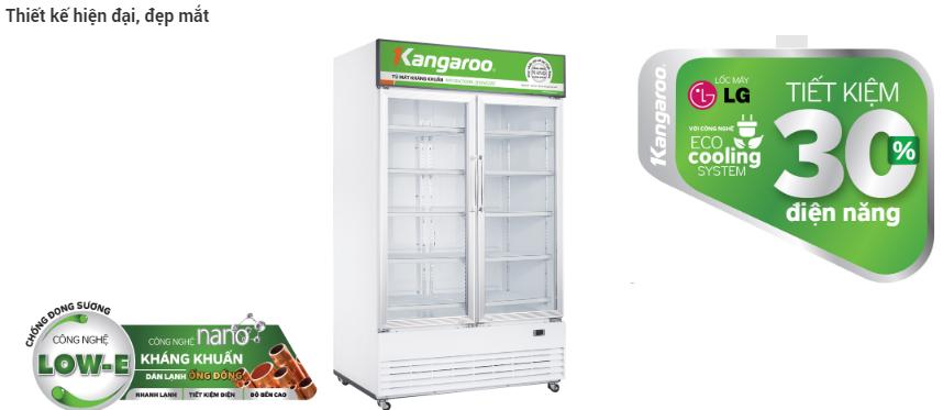 Tủ mát kháng khuẩn Kangaroo 02